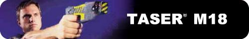 TASER® M18 fires 50,000 Volts From 15 Feet Away with Maximum Takedown Power!